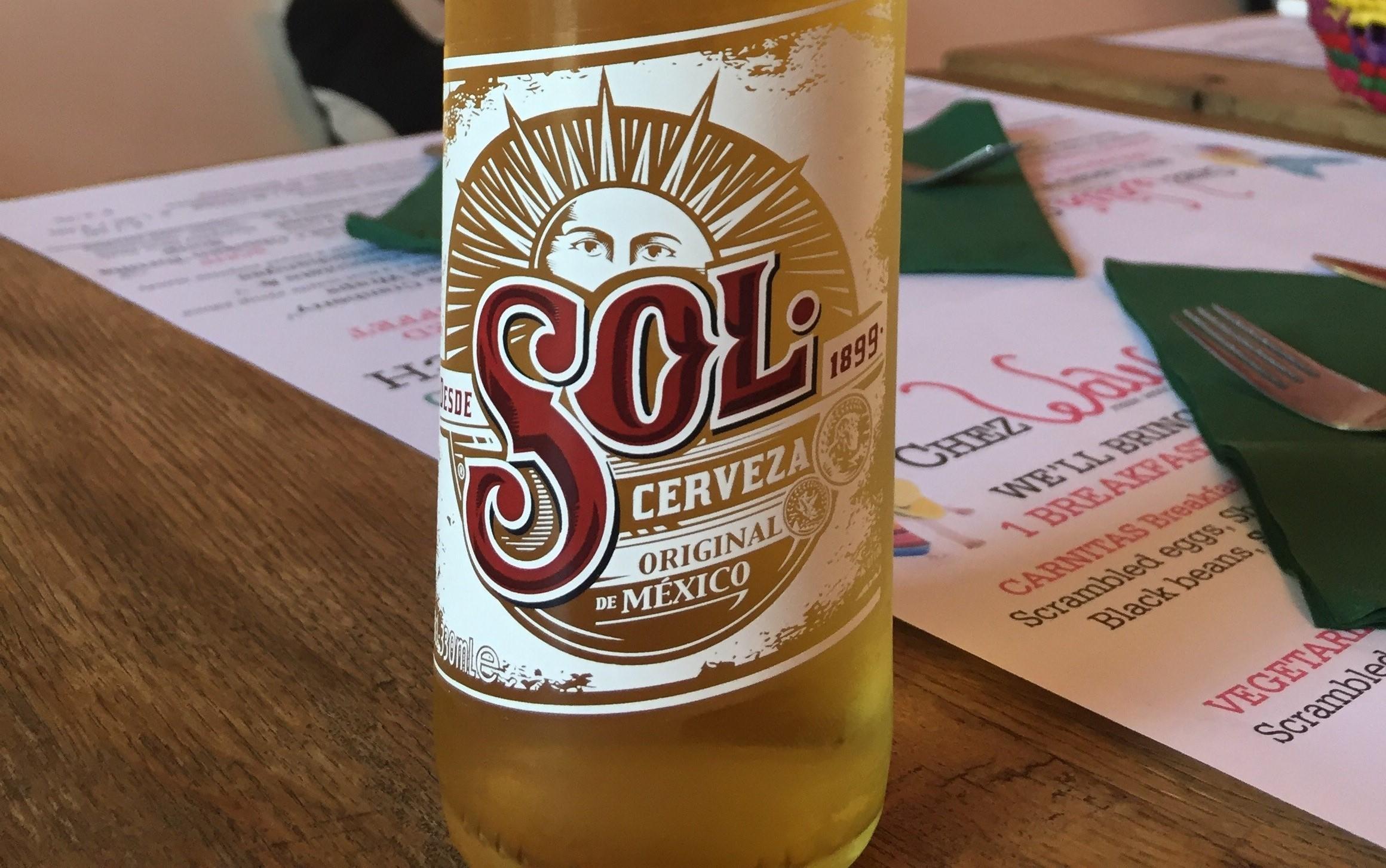 SOL Cerveza Original de México