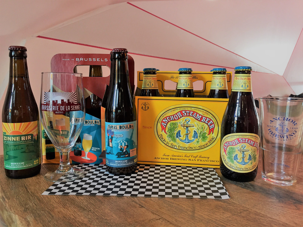 Anchor Steam & Brasserie de la Senne