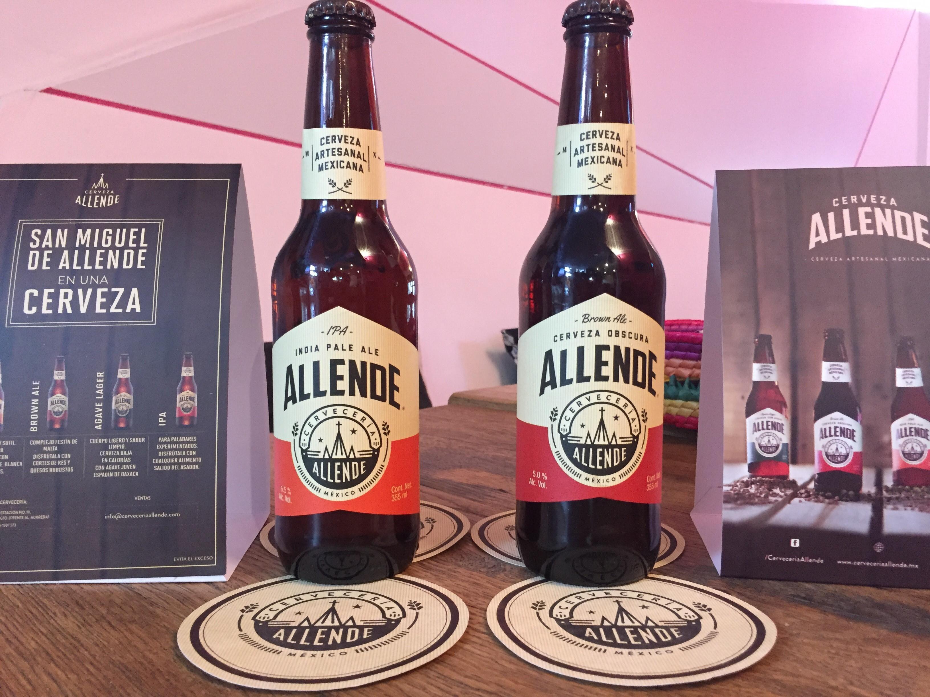 Bienvenidos a Cerveceria Allende