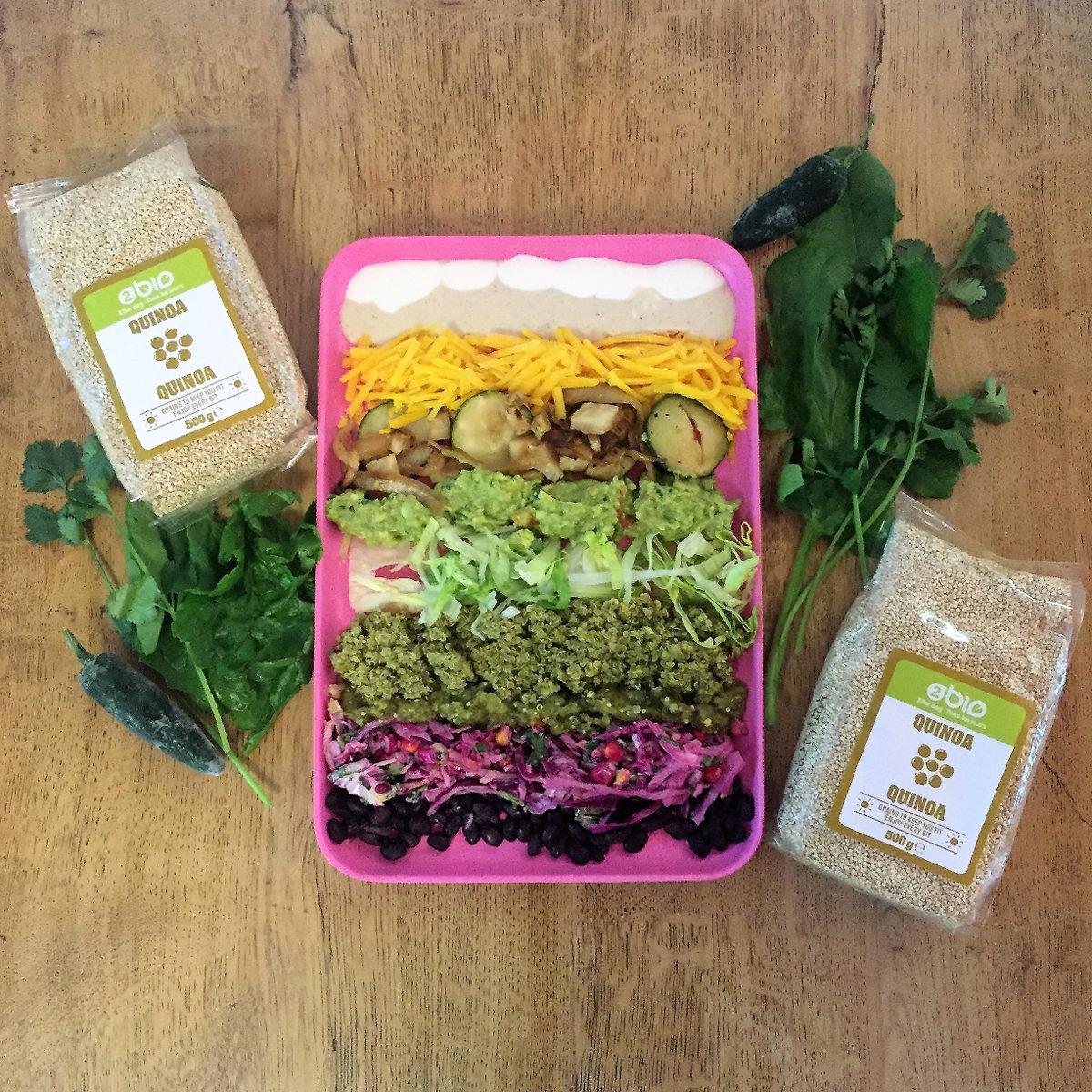 Spicy Green Quinoa