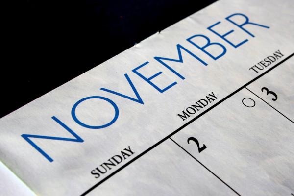 November has lots of Holidays...