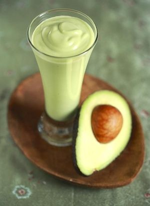 Homemade Avocado Milkshakes